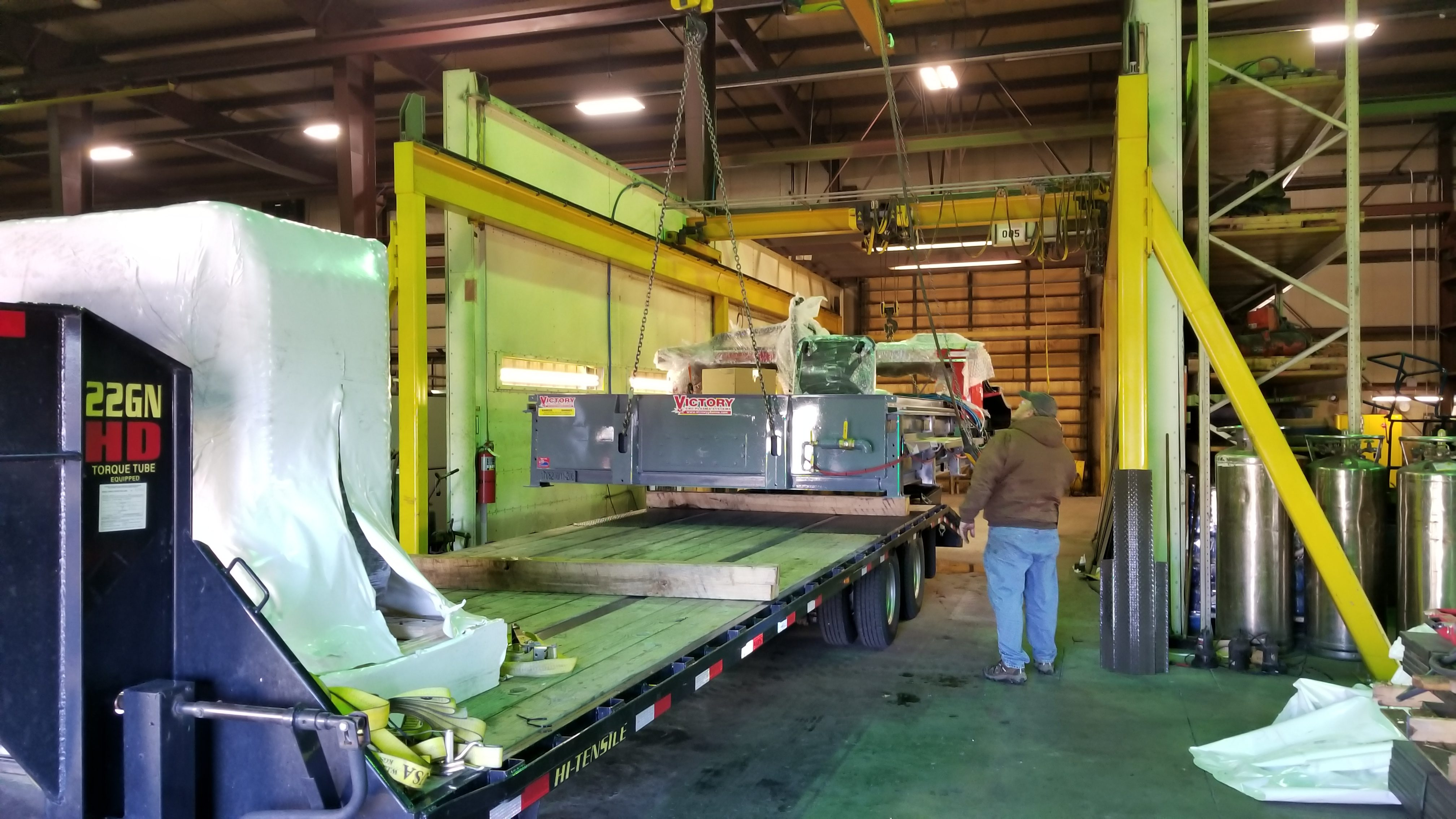 Victory CNC Plasma Systems 8'x20' Hypertherm EDGE Connect system with high-def XPR300 & True Hole