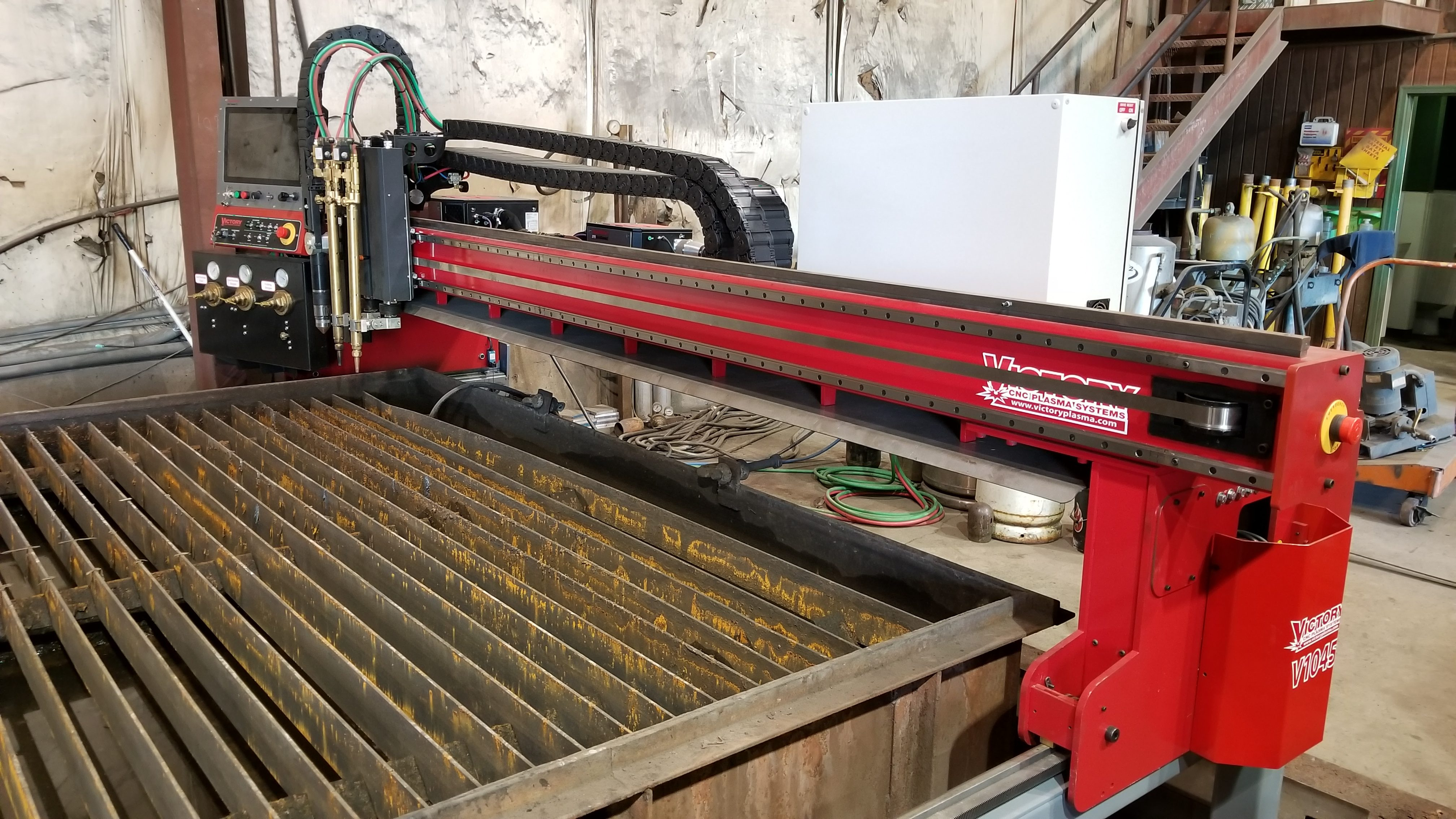 Victory CNC Plasma Systems 5'x10' Hypertherm EDGE Connect with XPR300 & dual oxy-fuel torches