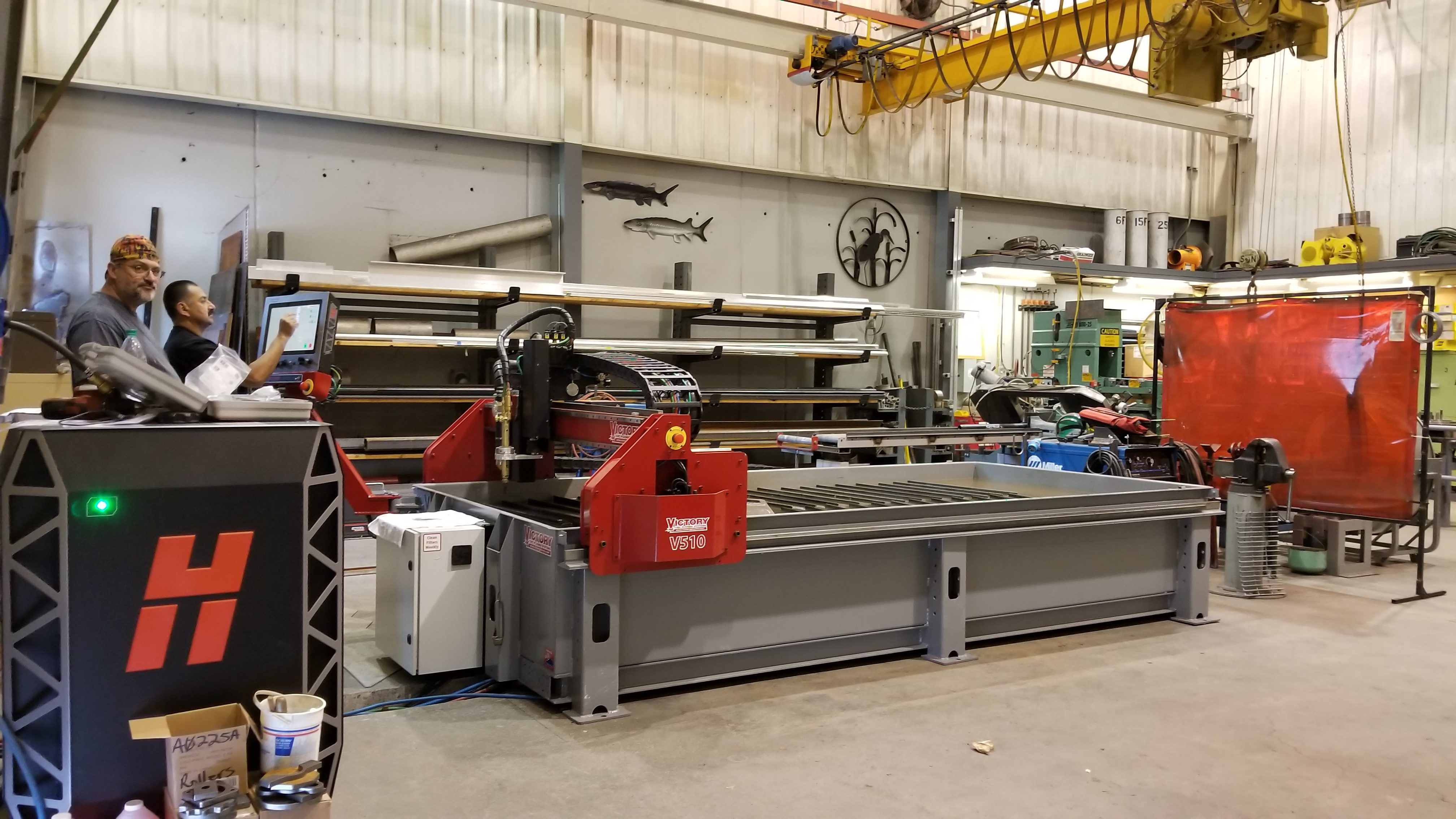 Victory CNC Plasma Systems 5' x 10' Hypertherm EDGE Connect & XPR300